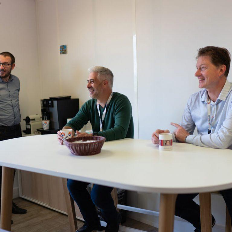 Secure Systems - Salle de détente café