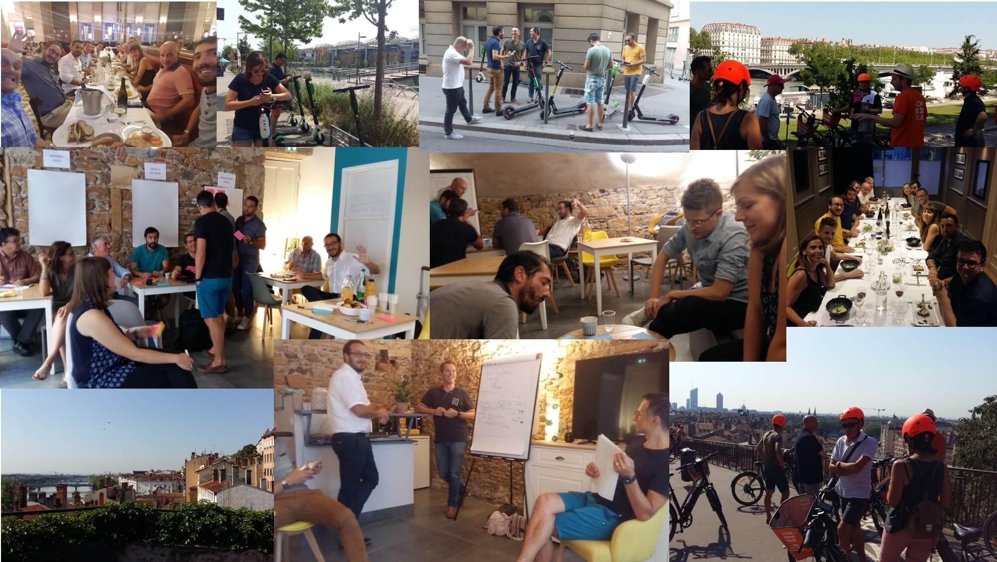 Réunion du groupe projet « Plan Stratégique 2020 » à Lyon !