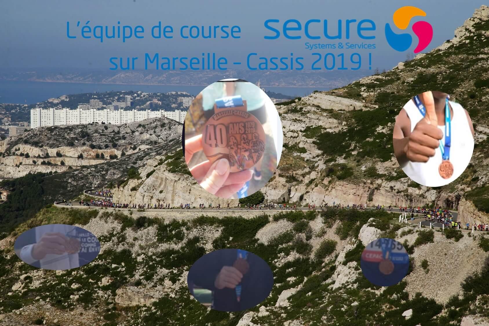Challenge réussi pour la Team SECURE sur Marseille-Cassis 2019 ! : )